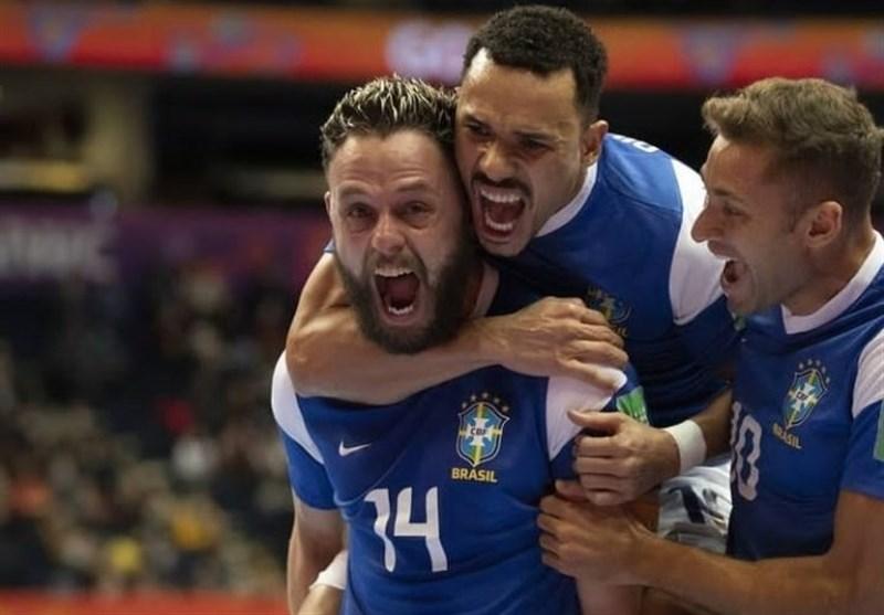 جام جهانی فوتسال| صعود دشوار برزیل و آرژانتین به جمع 4 تیم پایانی/ «سوپرکلاسیکو» در نیمهنهایی
