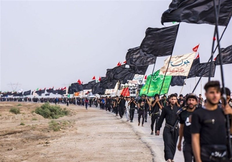 Pilgrims Flock to Karbala to Mark Arbaeen