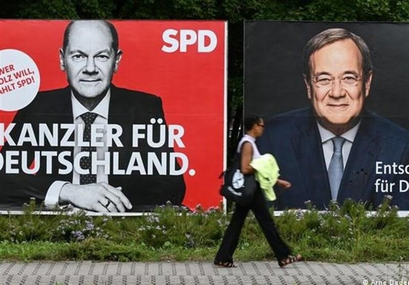 پیشتازی اندک حزب سوسیال دموکرات نسبت به اتحادیه احزاب متحد مسیحی در انتخابات آلمان/ ریزش شدید آراء حزب مرکل