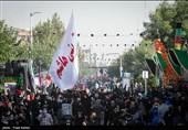 سیل خروشان جاماندگان اربعین از میدان امام حسین تا حرم عبدالعظیم حسنی+ تصاویر