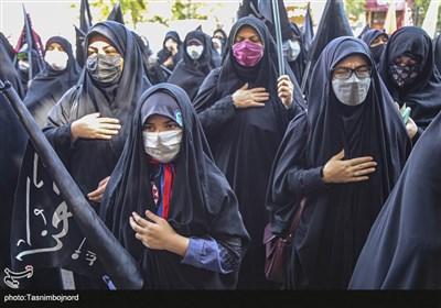 خراسانشمالی در اربعینحسینی غرق در عزا و ماتم است + فیلم