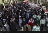 راهپیمایی جاماندگان از اربعین حسینی در بجنورد + تصاویر