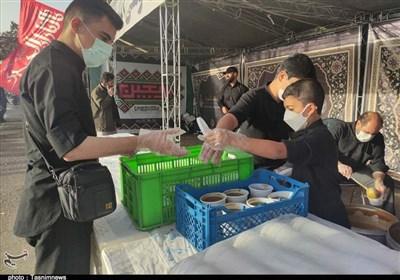 20 موکب برای خدمترسانی به زائرین در مسیر بازگشت در مرز شلمچه تدارک دیده شده است