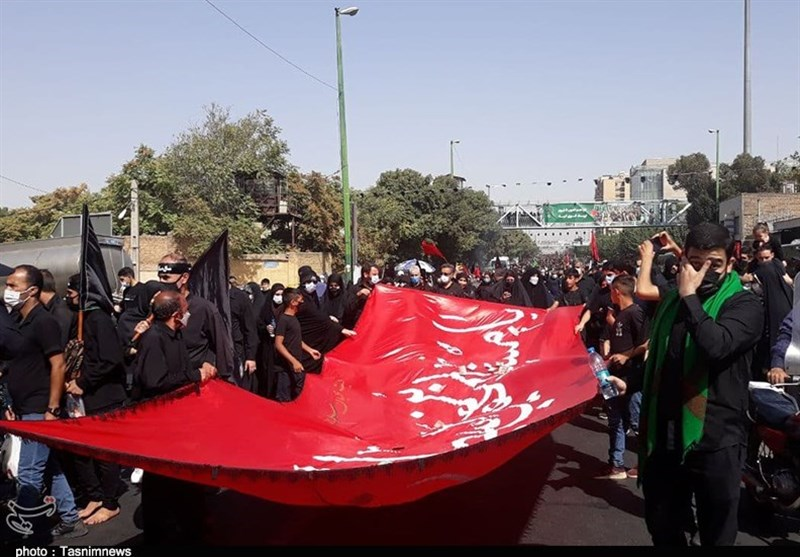 Procession Held in Tehran to Commemorate Arbaeen