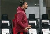 زلاتان دومین بازی اروپایی میلان را هم از دست داد