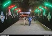 برگزاری موکب فرهنگی دانشجویان بسیجی در بوستان لاله