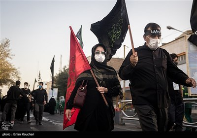 پیاده روی جاماندگان اربعین حسینی(ع) در تهران - 4