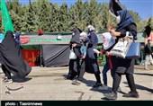 مراسم پیادهروی جاماندگان اربعین در لرستان؛ عاشقان حسینی قدم در راه دوست گذاشتند + تصاویر