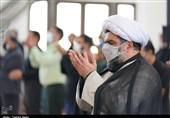 نماز ظهر اربعین در کیش به روایت تصویر
