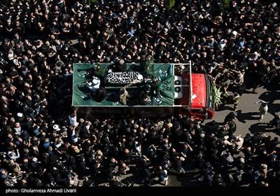 مراسم تشییع علامه حسنزاده آملی