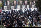 امروز گلستان شهدا مقرّ جاماندگان اربعین حسینی بود + تصاویر