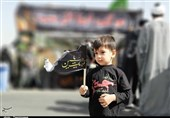 آیین پیادهروی جاماندگان اربعین حسینی در ایلام برگزار شد + تصاویر