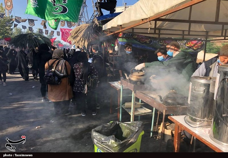 موکب جاماندگان اربعین حسینی در گرگان برپا شد + تصاویر