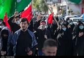 اجتماع جاماندگان اربعین در کرمانشاه؛ دروازه عتبات عالیات در سوگ فراق سیدالشهدا(ع) + تصاویر