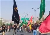 راهپیمایی جاماندگان حسینی پاکدشت برگزار شد + فیلم