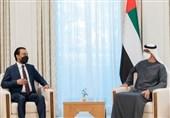 رئیس مجلس عراق با محمد بن زاید دیدار کرد