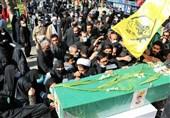 پیکر شهید مدافع حرم در مشهد به خاک سپرده شد