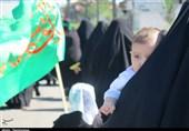 پیادهروی عاشقان حسینی در گیلان به روایت تصویر