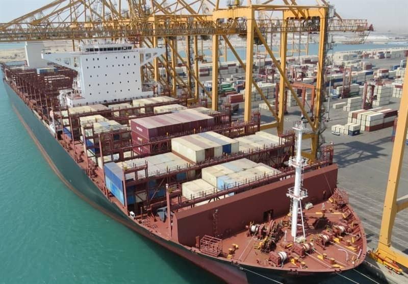 صادرات 222 هزار کانتینر کالا از بزرگترین بندر تجاری ایران