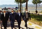 وزیر کشور وارد یاسوج شد/ ادای وحیدی به مقام شامخ شهیداناستان کهگیلویه و بویراحمد