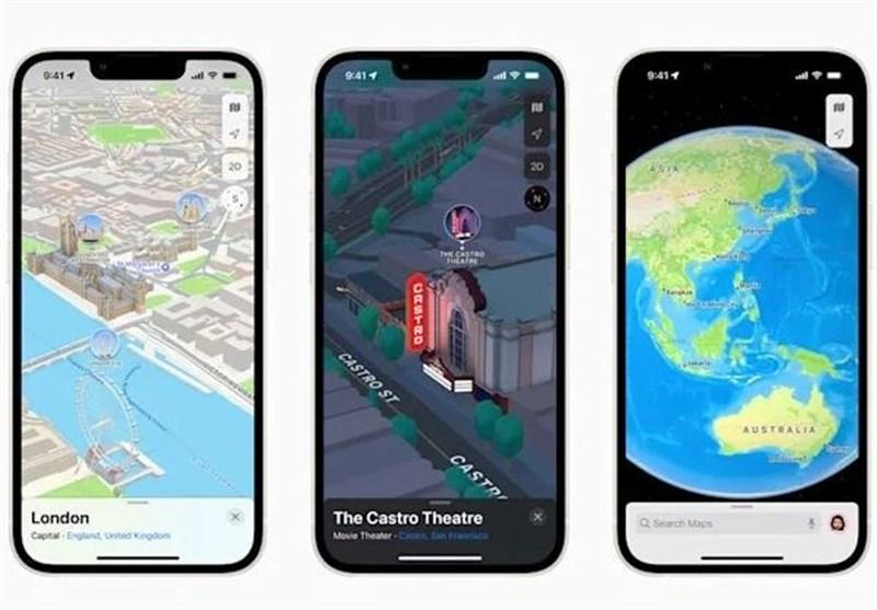 اپل نقشههای سهبُعدی را برای IOS 15 راهاندازی کرد