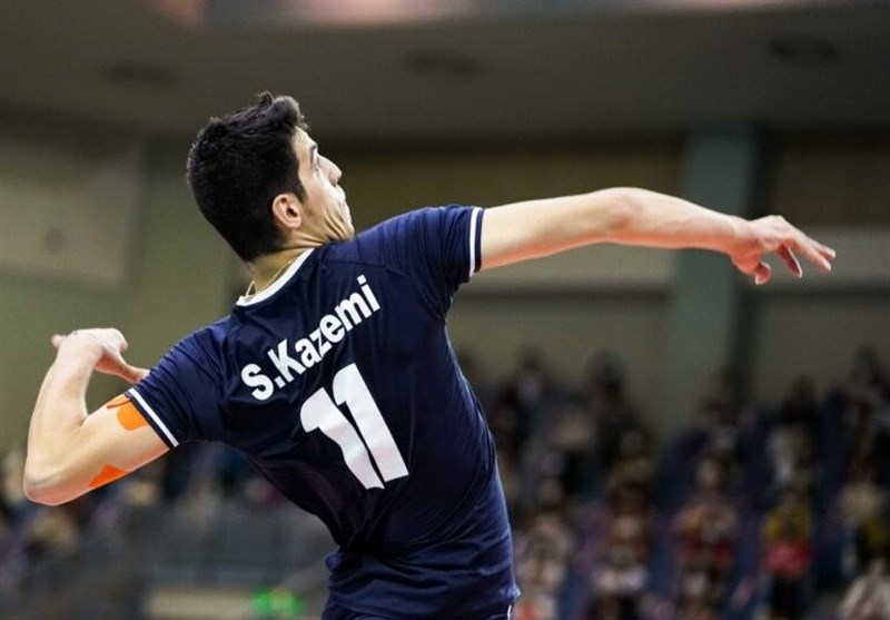 Saber Kazemi Chosen 2021 Asian Club Volleyball C'ship MVP