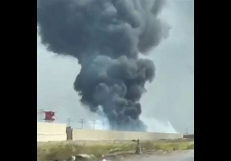 Huge Cloud of Smoke Seen Billowing from Base Housing US Forces in Iraq (+Video)