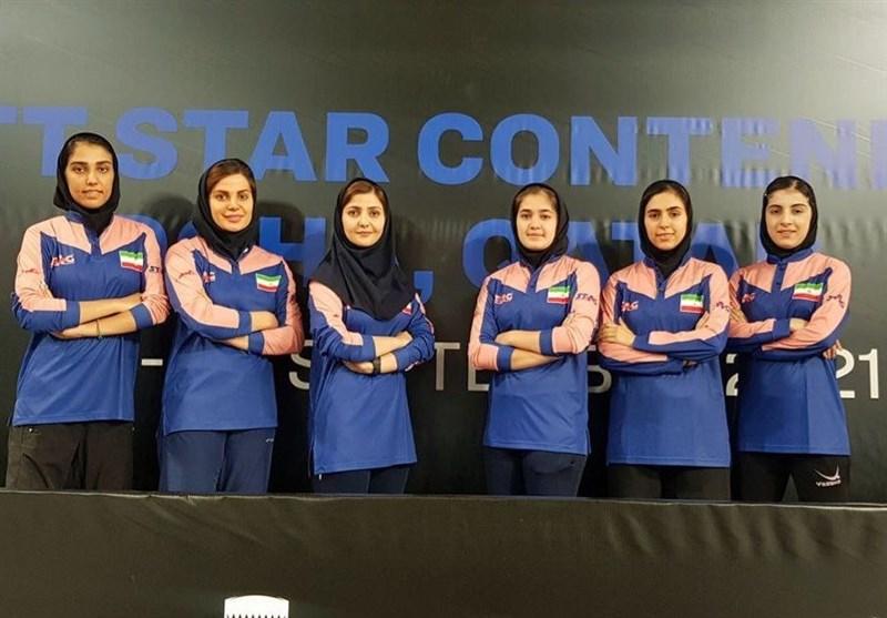 تنیس روی میز قهرمانی جهان| سهمیه جهانی برای تیم بانوان ایران