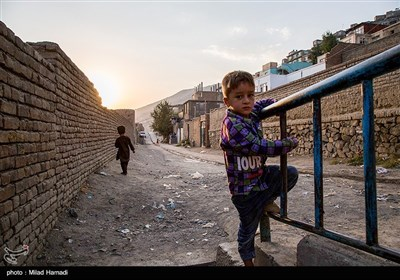 کارته آریانا محله قدیمی در دامنه کوه های کابل