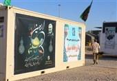 استقرار بیمارستان سیار نیروی زمینی سپاه در مرز مهران