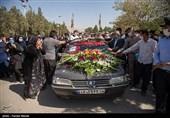 وداع تلخ با پرستار جوان بیمارستان فارابی / استان کرمانشاه یک شهید مدافع سلامت دیگر تقدیم کشور کرد + فیلم