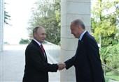 اشارات معنی دار پوتین در دیدار با اردوغان