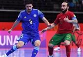 جام جهانی فوتسال| پرتغال با شکست قزاقستان به فینال رسید