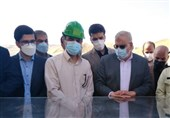 وزیر نفت از سد چمشیر بازدید کرد