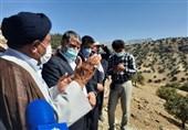 وزیر جهاد کشاورزی از پروژههای عمرانی کهگیلویه بازدید کرد