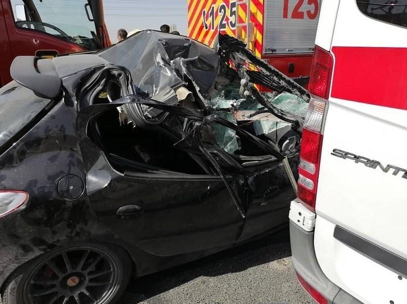 14000709141438151237268610 - تصادف مرگبار پژو 207 در جاده ورامین/ انتقال مصدومان با بالگرد + تصاویر