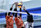والیبال زنان باشگاههای آسیا| سایپا مغلوب حریف قزاقستانی شد
