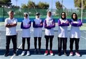 عزیزی: دختران تنیس ایران یک سرو گردن بالاتر از حریفانشان بودند