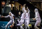 لیگ برتر بسکتبال بانوان| سپاهان و اکسون پیروز شدند