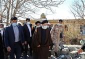 پنجمین سفر استانی رئیس جمهورـ 9  رئیسی از شهرستان زلزلهزده دنا بازدید کرد