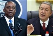 گفتوگوی وزرای دفاع ترکیه و آمریکا درباره مسایل امنیتی و دفاعی