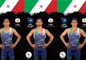 Dünya Güreş Rekabetlerinde İranlı İki Sporcu Yarı Finale Yükseldi