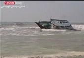 تازهترین اخبار از طوفان حارهای| زخم شاهین بر پیکر مکران / 5 صیاد مفقود و دهها لنج و قایق صیادی در پسابندر آسیب دید + فیلم