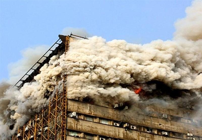 دلیل اصلی آتش سوزی در ساختمان پلاسکو