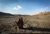 کام تشنه اکباتان و تشدید بحران آب در همدان + تصویر