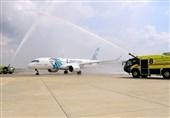 اولین پرواز تجاری مصر به فلسطین اشغالی