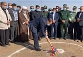 مراسم کلنگزنی و آغاز عملیات اجرایی موزه بینالمللی صحرای طبس