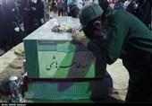 """مراسم وداع و تشییع شهید مدافع حرم """"سید ظاهر هاشمی"""" در شهرستان مبارکه برگزار میشود"""