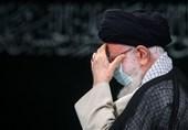 برگزاری مراسم عزاداری روز رحلت پیامبر و شهادت امام حسن (ع) باحضور امام خامنهای