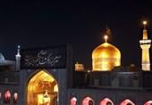 زائران رضوی در سوگ حضرت رسول اکرم(ص)/ مشهدمقدس پذیرای عزاداران رضوی است